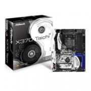 Дънна платка ASRock X370 Taichi, X370, AM4, DDR4, PCI-E (CF&SLi), 8x SATA3 6.0 Gb/s, 2x M.2 Socket, 6x USB 3.0, ATX