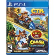 Crash Team Racing Nitro Fueled and Crash Bandicoot N. Sane Trilogy Bundle /PS4