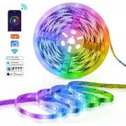 WiFi RGB Контролер и LED Лента Комплект
