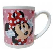 Cana ceramica Minnie Mouse roz