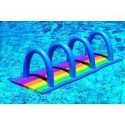 Comfy vízi nudlihoz úszószőnyeg 150x50x3 cm, csíkos