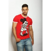 EPATAGE Мужская клубная футболка с Микки Маусом красная EPATAGE 040237m-EP