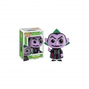 Funko Pop The Count Plaza Sesamo El Conde Sesame Street Vinyl-Multicolor