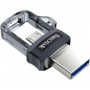 Memoria USB 128GB Sandisk USB 3.0 Micro USB SDDD3-128G-G46