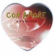 Kit Erótico Con Amore Diversão ao Cubo