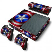 GoldenDeal Xbox One Console and 2 Controllers Skin Set SuperHero XboxOne Vinyl