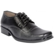 Big Junior Black Color Formal Shoes Lace Up For Men(Black)