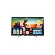 Smart TV LED 50 UHD 4K Philips 50PUG6102 com Micro Dimming, Pixel Plus, Incredible Surround, HDMI e USB