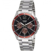 Casio Enticer Analog Black Dial Men's Watch - MTP-1374D-5AVDF (A951)