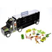 PowerTRC Dinosaur Transport Truck - 13 Different Unique Transportable Pieces