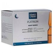 MARTIDERM Platinum night renew (Alfa Peeling) 30 ampollas 2ml