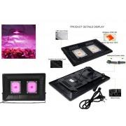 NTR LAMPG08 100W COB LED növény nevelő lámpa 8000lm 380-800nm teljes spektrum IP65 230V