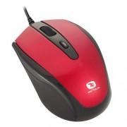 Mouse seria Pastel 3300, 1600dpi, negru / rosu