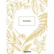 Happinez Botanical Notebook Wit