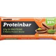 Named Spa Named Sport Proteinbar - Barretta Proteica 35% 1 Barretta Da 50 G, Gusto Delicious Pistachio