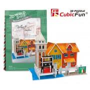 Puzzle 3D Debarcader Italia, 19 piese