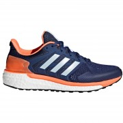 adidas Women's Supernova ST Running Shoes - Indigo/Blue/Orange - US 5.5/UK 4 - Indigo/Blue/Orange