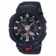 reloj deportivo digital casio g-choque GA-500-1A4-negro + rojo