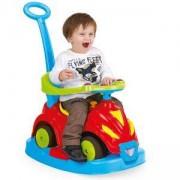 Детски кракомобил 4 в 1 - Усмивка - син, Dolu, 869089080035