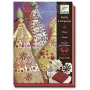 Djeco Magical Dresses Stamp Set