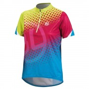 bicycle-line Maillots Bicycle-line Antigua Blue / Fuchsia / Green