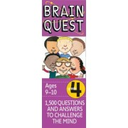 Brain Quest Grade 4, Revised 4th Edition: 1,500 Questions and Answers to Challenge the Mind, Hardcover