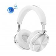 Bluedio T4S Noise Cancelling Bluetooth Wireless 4.2 Auriculares Estéreo Auriculares Con Micrófono Para IPhone, Samsung, Huawei, Xiaomi, HTC Y Otros Smartphones, Todos Los Dispositivos De Audio (blanco)
