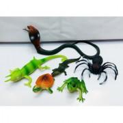 Kiditos Natural Animals Figures PVC Animal Toys 6 pcsset
