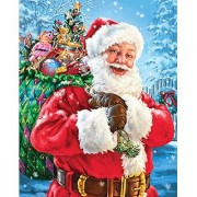 Springbok Puzzles Santa's Magic Bag Jigsaw Puzzle (1000 Piece)