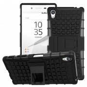 Capa Híbrida Anti-Deslizante para Sony Xperia Z5 Premium, Xperia Z5 Premium Dual - Preto
