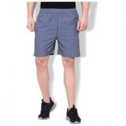 Nike Grey Polyester Lycra Shorts