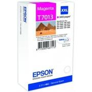 Epson T70134010 Tintapatron Workforce Pro 4000, 4500 sorozat nyomtatókhoz, EPSON vörös, 34,2 ml WP 4095DN WP 4515DN WP 4525DNF WP 4595DNF WP4015 WP4015DN WP4095 WP4515 WP4525 Eredeti kellékanyag