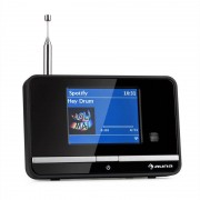 auna iAdapt 320 Internetradio-Adapter WLAN DAB/DAB+ UKW/MW TFT-Display schwarz