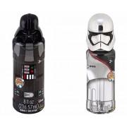 Disney Star Wars Bubble Toys - Set of 2 Collectible Character Set (Darth Vader & Captain Phasma)