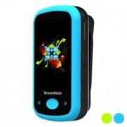"""MP4-spelare Sunstech Ibiza 1,8 """"4 GB Bluetooth - Färg: Blå"""