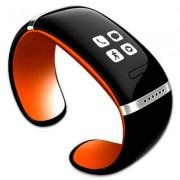 Smart Watch/Armband met Oled touch scherm Zwart/Oranje