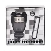 Paco Rabanne Invictus confezione regalo eau de toilette 50 ml + eau de toilette 10 ml + portachiavi uomo