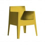 Driade Toy Stuhl mit Armlehne Einzelstück senffarben