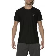 asics SS Top Heren zwart 2017 Hardloopshirts