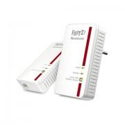 AVM FRITZ!Powerline 1240E WLAN 1200Mbit/s Collegamento ethernet LAN Wi-Fi Bianco 1pezzo(i) adattatore di rete powerline