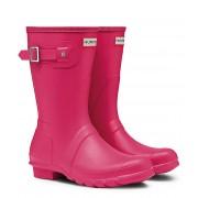 Hunter Regenlaarzen Boots Original Short Roze