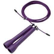 Da Vinci Ultraspeed Adjustable Cable Jump Rope Purple 10-Feet