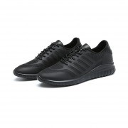 Zapatos Casuales Con Malla Respirable Loafers/ Mocasines Para Hombre -Negro