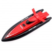 HUANQI 958A 2.4G 2CH 1:10 Escala Mini RC Barco Juguete-Rojo