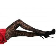 colanti PAMELA MANN - Stil baroc tulle - Negru - PM231