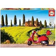 Educa Children's 1500 Scooter in Toscana Puzzle (Piece)