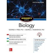 Schaum's Outline of Biology, Fifth Edition, Paperback/George H. Fried