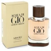 Acqua Di Gio Absolu Eau De Parfum Spray By Giorgio Armani 1.35 oz Eau De Parfum Spray