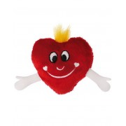 Plysch Hjärta Kylskåpsmagnet - Boy
