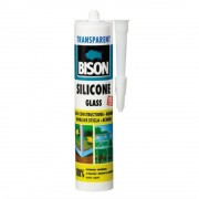 Silicon sticla transperent, 280 ml, Bison, 424003